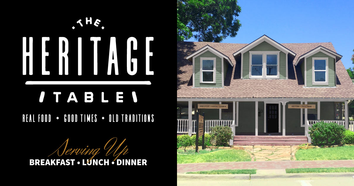 The Heritage Table Downtown Frisco Restaurants Dinner